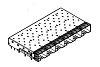 Molex SFP+ Cage for Light Pipe, 74754-0620