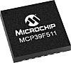 Microchip MCP39F511A-E/MQ, Current Monitor 28-Pin, QFN