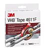 3M 4611F, VHB™ Grey Foam Tape, 19mm x