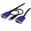Startech 1.8 (Cable)m Male 15 Pin VGA, Male