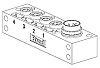 Molex 120247 Series M8 I/O module, 4 Port