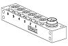 Molex 120247 Series M8 I/O module, 6 Port