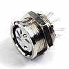 Deltron 4 Pole Din Socket, 2A, 34 V