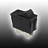 Copal Electronics, Latching Rocker Switch Panel Mount