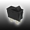 Copal Electronics, On-None-Off Rocker Switch Panel Mount
