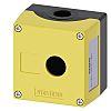 Siemens Yellow Metal 3SU1 Control Station Enclosure -