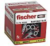 Fischer Fixings Nylon Masonry Fixing, fixing hole diameter