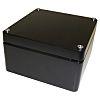 Deltron Black Die Cast Aluminium Enclosure, IP66, IP67,