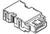 Molex, 54599 10 Way Vertical D-sub Connector Socket,