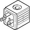 Festo Solenoid Coil, MSN1G-24DC-OD, 24V dc