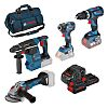 Bosch 0615990L0P, 18V Cordless Power Tool Kit