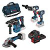 Bosch 0615990L0N, 18V Cordless Power Tool Kit