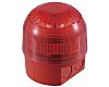 Klaxon Sounder Beacon 106dB, Red LED, 17 →