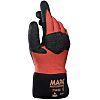 Mapa Titan, Orange Nitrile Coated Work Gloves, Size