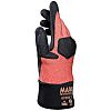 Mapa Krotech, Orange Nitrile Coated Work Gloves, Size