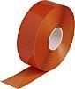Brady Orange Vinyl Lane Marking Tape, 76.2mm x
