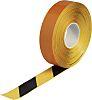 Brady Black/Yellow Vinyl Lane Marking Tape, 50.8mm x