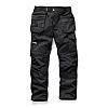 Scruffs Trade Black Men's Cotton, Polyester Trousers