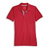 Uvex 8916 Red Unisex's Polyester, Tencel Polo, UK-