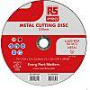 RS PRO Nylon Cutting Disc, 230mm x 3mm