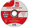 RS PRO Aluminium Oxide Cutting Disc, 125mm x