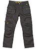 Dewalt 3D Trouser Black Cotton, Polyester Trousers Imperial