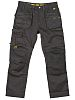 Dewalt 3D Trouser Black Cotton, Polyester Trousers Imperial