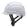 Uvex Pheos White Hard Hat with Chin Strap,