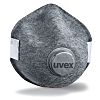 Uvex Uvex Silv-Air 8707210 Disposable Respirator, FFP2, Valved
