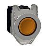 Schneider Electric XB4 Illuminated Orange Push Button SPDT