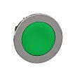 Schneider Electric ZB4 Series, Green Push Button Head,