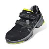 Uvex 1 Black/Lime Men, Women Toe Cap Safety