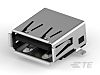 TE Connectivity, Alcoswitch Gemini A USB Connector, SMT,