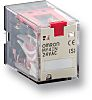Omron, 220/240V ac Coil Non-Latching Relay DPDT, 5A