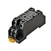 Omron Relay Socket for use with Miniature Power Relays 2 Pin, DIN Rail, 2250V ac