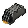 Omron Relay Socket for use with Miniature Power Relays 4 Pin, DIN Rail, 2250V ac