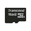Transcend microSD 16GB inc. SD adapter C