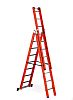 RS PRO 3 x 8 steps Step Ladder