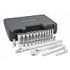 "29 Pc 12 point 3/8"" drive Socket Set"