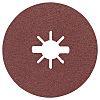 Bosch Aluminium Oxide Sanding Disc, 125mm, P80 Grit