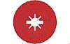X-Lock Aluminium Oxide Grinding Disc, 115mm, Fine Grade,