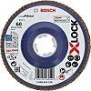 Bosch X-Lock Zirconia Aluminium Flap Disc, 125mm, P60