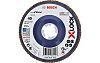 Bosch X-Lock Zirconia Aluminium Flap Disc, 125mm, P80