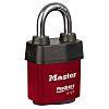 Red Pro Series padlock 6 pin cylinder -