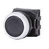 RS PRO Flush Black Push Button Head -