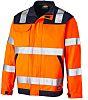 Dickies Everyday High Vis Jacket Orange/