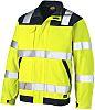 Dickies SA24/7JK Yellow Hi Vis Jacket, XL