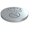 Varta CR2430 Button Battery, 3V, 24.5mm Diameter