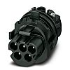 Phoenix Contact PRC 5-HEAD-MS6-2 Series, Male, Cable Mount