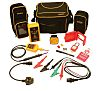 Martindale TB118KIT1 Voltage Indicator & Proving Unit Kit <3.5mA 600V ac/dc, Kit Contents 8mm Clip Locked Out Tag,